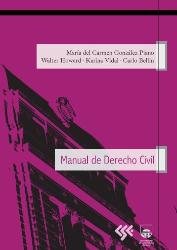 Manual de Derecho Civil - Comisión Sectorial de Enseñanza