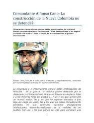 Comandante Alfonso Cano - Otra Mirada del Conflicto