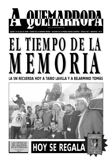 hoy se regala - Semana Negra Gijón