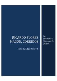 MUÑOZ, José. Corridos de Ricardo Flores Magón Copy