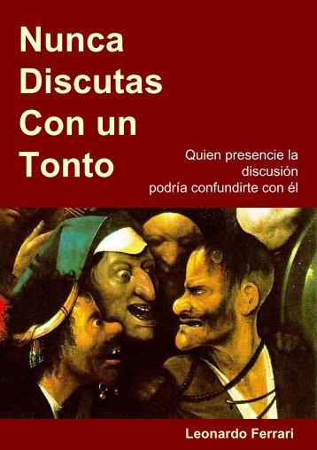 NUNCA DISCUTAS CON UN TONTO - Tusbuenoslibros.com
