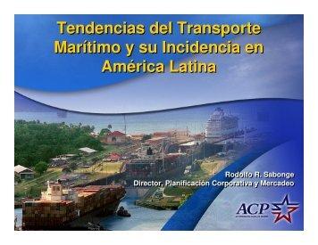 Tendencias del Transporte Marítimo y su Incidencia en América ...