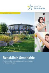 Rehaklinik Sonnhalde