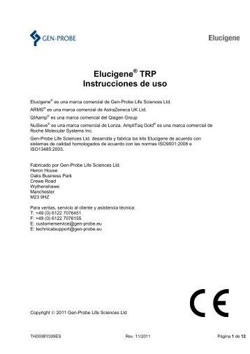 ELUCIGENE™ AAT Reagent - Gen-Probe, Inc.
