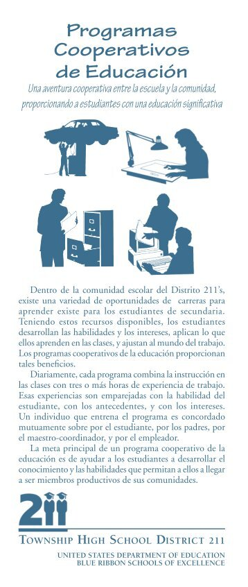 Programas Cooperativos de Educación - Township High School ...