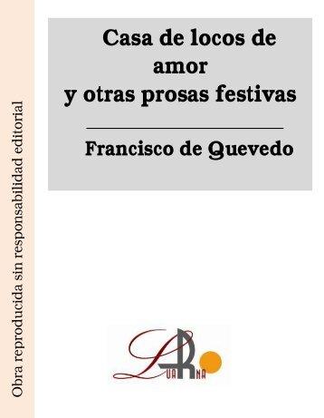 Casa de locos de amor y otras prosas festivas - Ataun