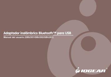Adaptador inalámbrico Bluetooth™ para USB - IOGear