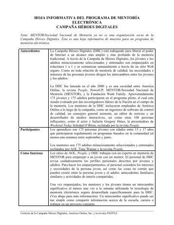 Hoja Informativa Del Programa De Mentoría Electrónica.pdf