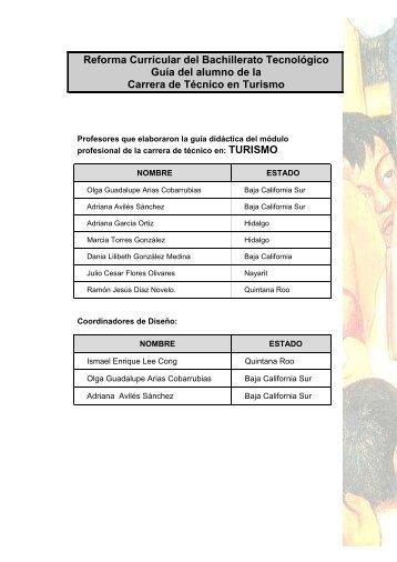 Reforma Curricular del Bachillerato Tecnológico - Cecyte