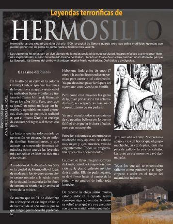 Leyendas de Hermosillo