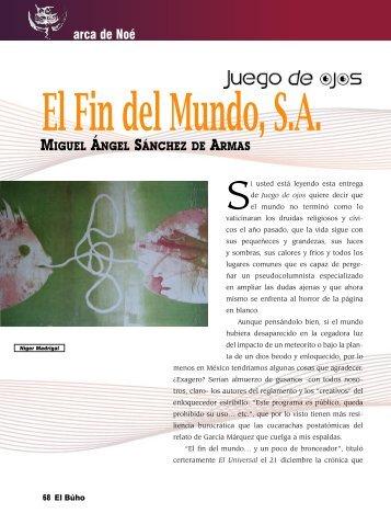 arca de Noé - Revista EL BUHO
