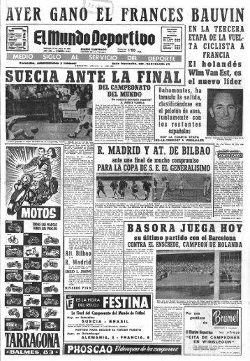 Copa 1958 - AthleticTV