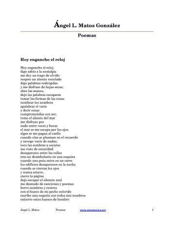 Poemas de Ángel L. Matos - Rostros y Versos