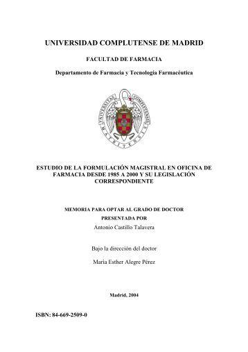 Antonio Castillo Talavera - Biblioteca de la Universidad ...