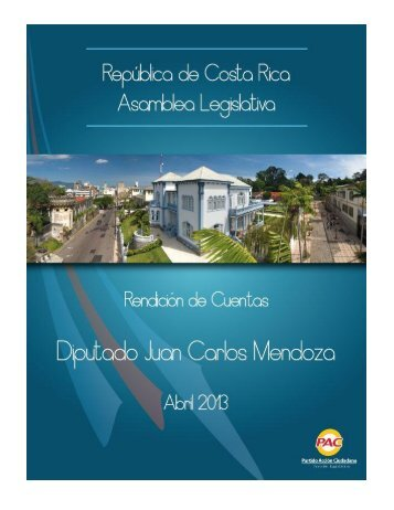 Informe de Labores del Diputado Juan Carlos Mendoza García ...