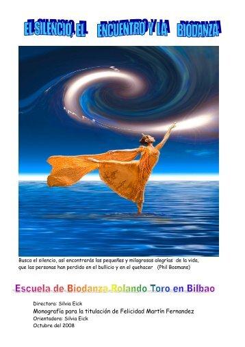 Monografía para la titulación de Felicidad Martín Fernandez