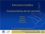 Caracteristicas de las Normas - Universidad Autónoma del Estado ...