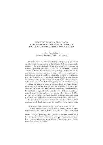 JUEGOS DE IMAGEN Y APARIENCIA: SIMULACIÓN ...
