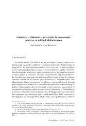 Carrasco Manchado, Ana Isabel. - Biblioteca SAAVEDRA FAJARDO ...