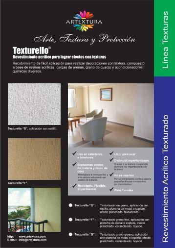 Ficha técnica Texturello - Artextura