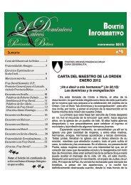 Boletín informativo FLD Prov. Bética. Nº 9. Enero - Marzo 2012
