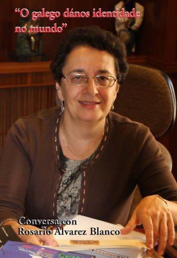 Entrevista con Rosario Álvarez, por Víctor F ... - Editorial Galaxia