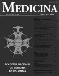 Vol. 25 No. 3 (63) Diciembre - 2003 - Academia Nacional De ...