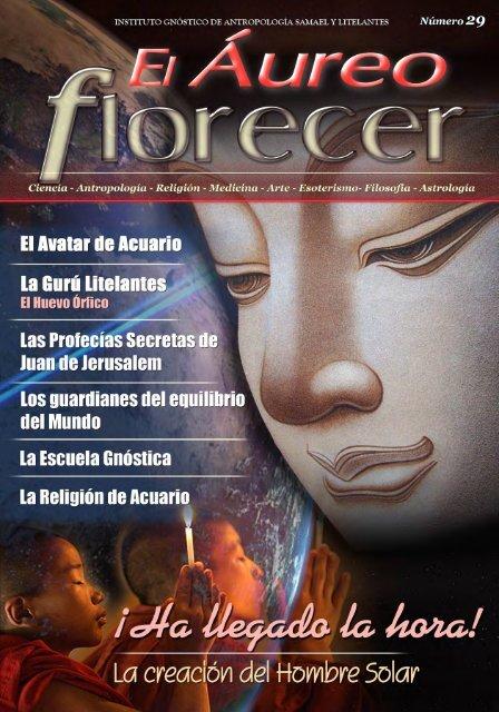 Revista 29 El Aúreo Florecer - La Tienda de Ediciones Gnósticas