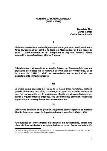 Alberto Barrague - Sindicato Médico del Uruguay