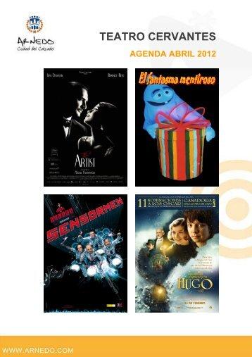Descargar Folleto Programa Teatro Cervantes Abril 2012 - Arnedo