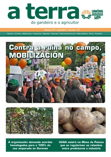 Nº 29, 2009 - Unións Agrarias