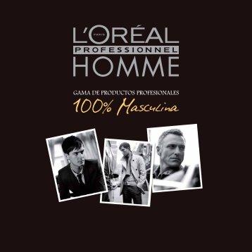 GAMA DE PRODUCTOS PROFESIONALES - L'Oréal Professionnel
