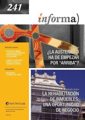 ¿LA AUSTERIDAD HA DE EMPEZAR POR ... - Gama Comercial