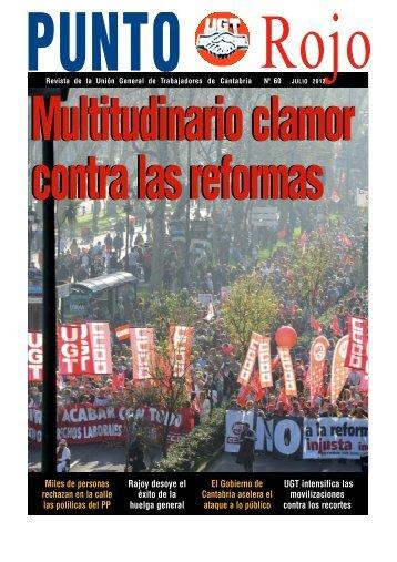 Miles de personas rechazan en la calle las ... - UGT Cantabria