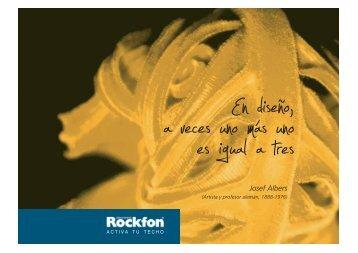 Josef Albers - Productos - Rockfon