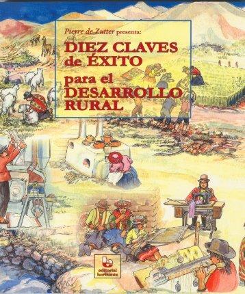 Diez claves de éxito para el desarrollo rural, basadas - Pachamama ...