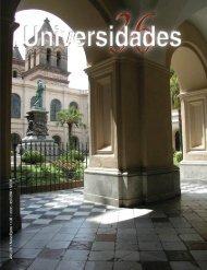 Revista Universidades Número 36, Enero - Abril de 2008 - udual