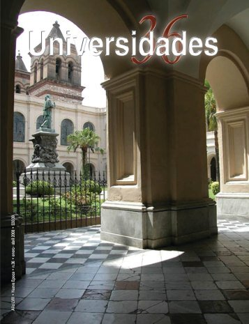 Revista Universidades Número 36, Enero - Abril de 2008 - udual
