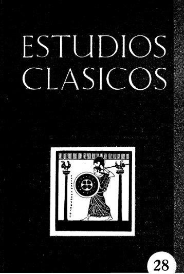 28 (1959) - Sociedad Española de Estudios Clásicos