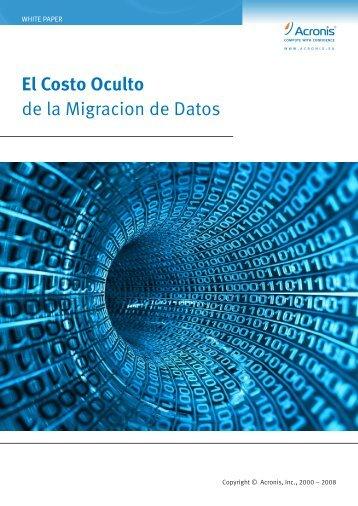 El Costo Oculto de la Migracion de Datos
