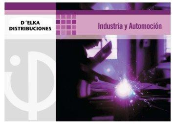 Catalogo Industria y Automocion portada - D´elka Distribuciones