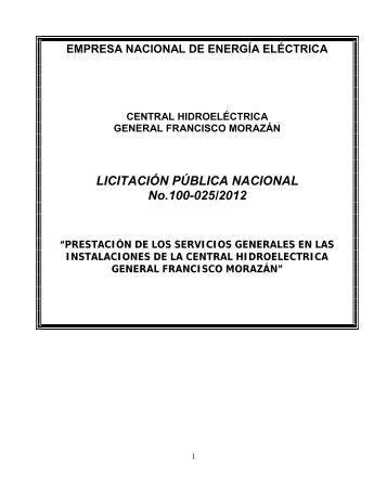 Sección I. Instrucciones a los Oferentes - HonduCompras