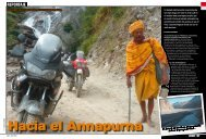 REPORTAJE - Vuelta al Mundo en moto Sinewan