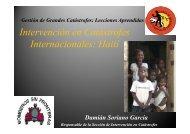 Caso real: Terremoto en Haiti