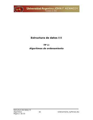 Estructura de datos III - Monografias.com