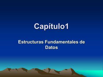 Estructuras Fundamentales de Datos