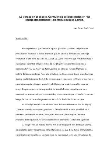 El espejo desordenado, de Manuel Mujica Lainez - Encuentro ...