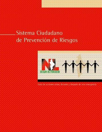 Sistema Ciudadano de Prevención de Riesgos - Gobierno del ...