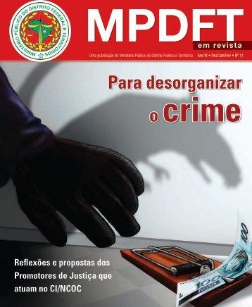 Para desorganizar - Ministério Público do Distrito Federal e Territórios