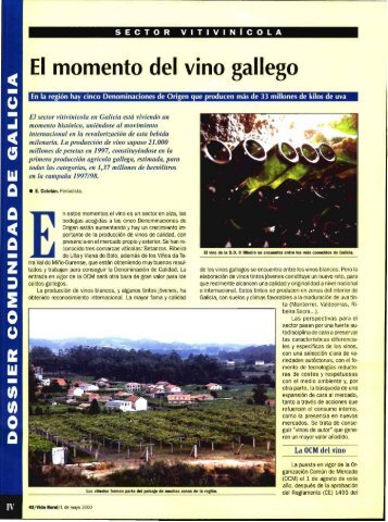 Revista Vida Rural, ISSN: 1133-8938 - Academia da Vinha e do Vinho